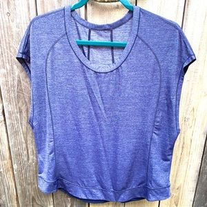 Lululemon Cut Off Sleeve Workout Top